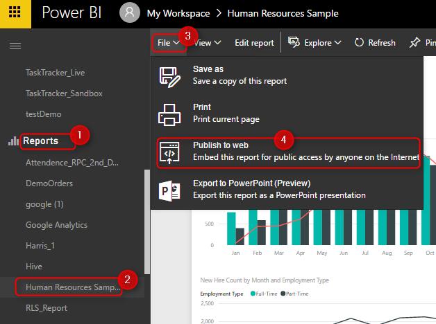 Power BI Tip: Embedding Power BI Reports - Data Bear
