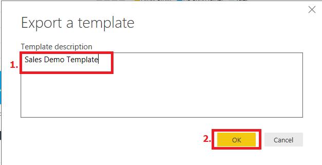 export template