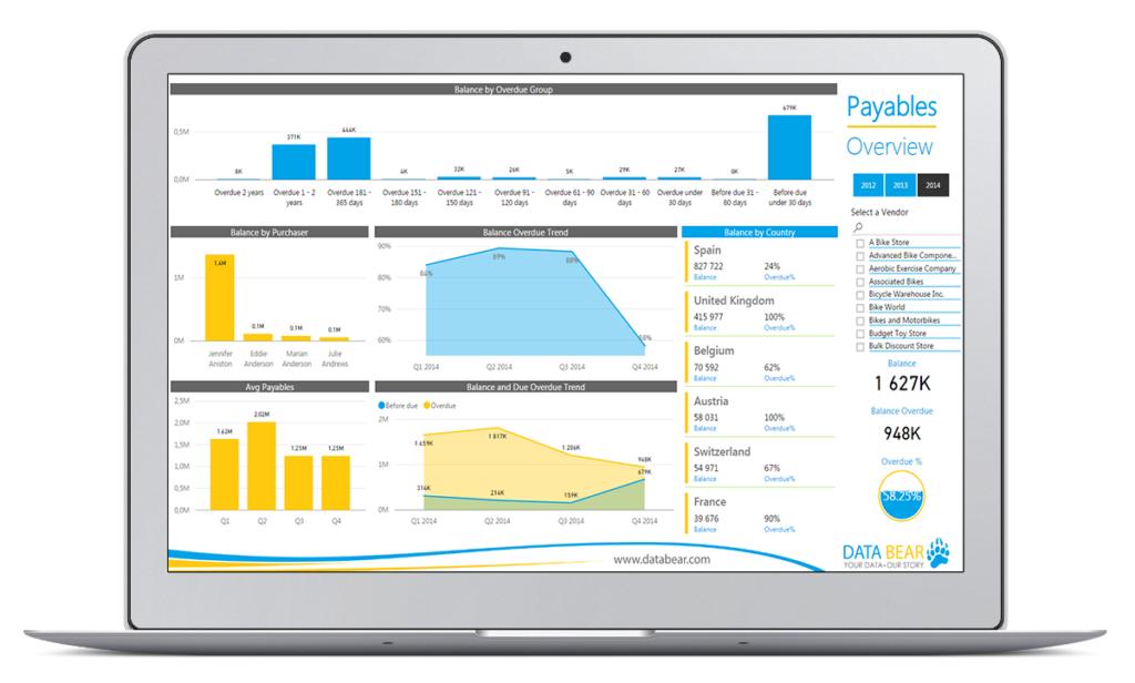 Data Bear Power BI Solution Showcase | Insights & Analysis