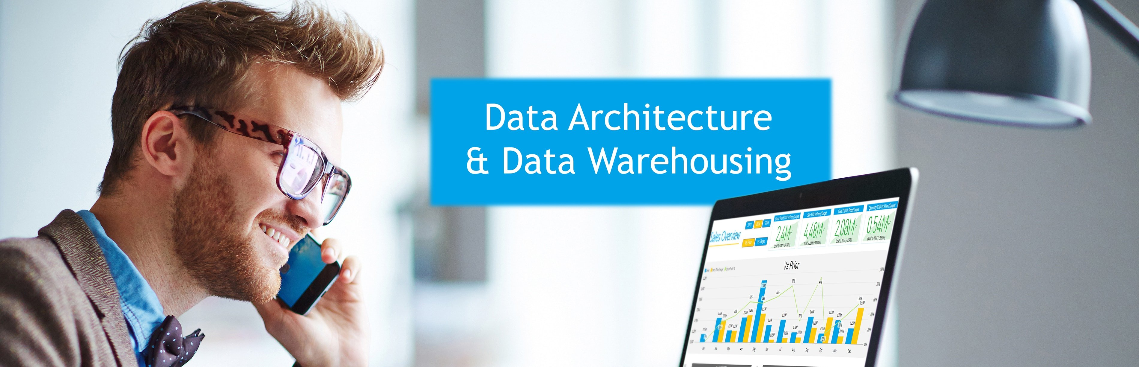 Data Bear Data warehousing banner
