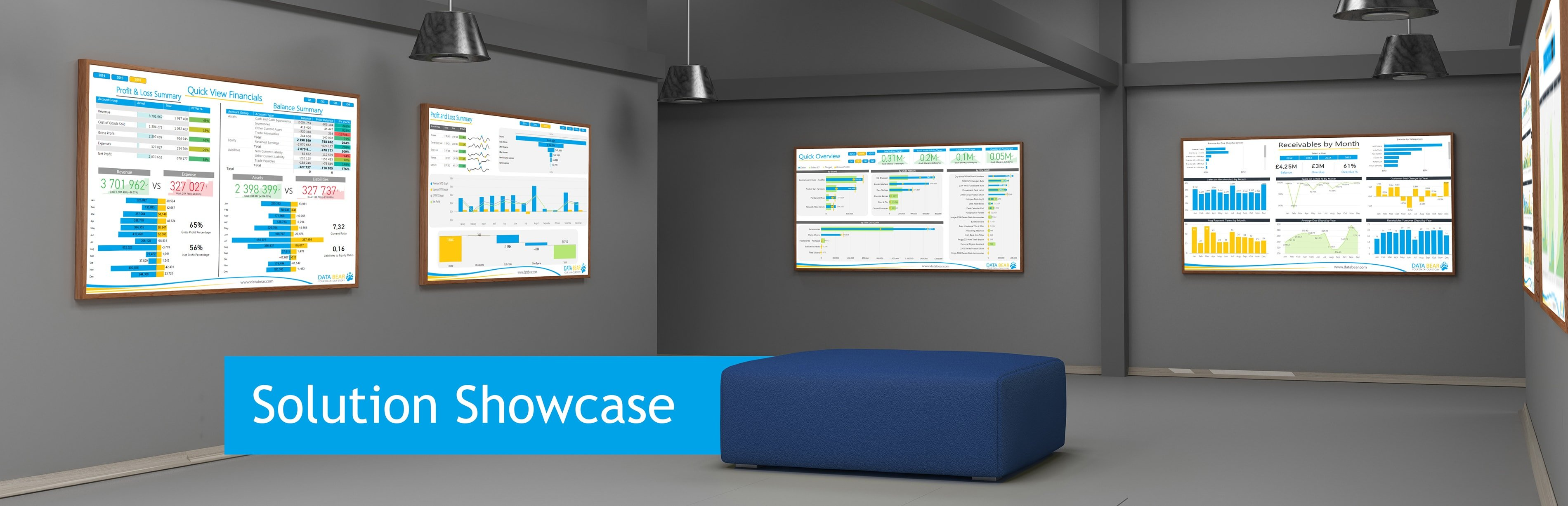 Data Bear Power BI solution showcase banner
