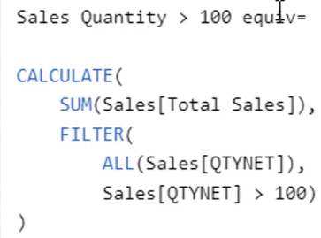 Sales Quantity greater than 100_FILTER_ALL