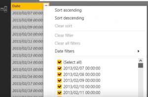 POWER BI DAX FUNCTION CALENDAR CALENDARAUTO