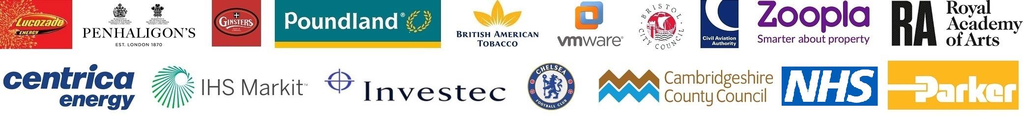 Power BI Training logos